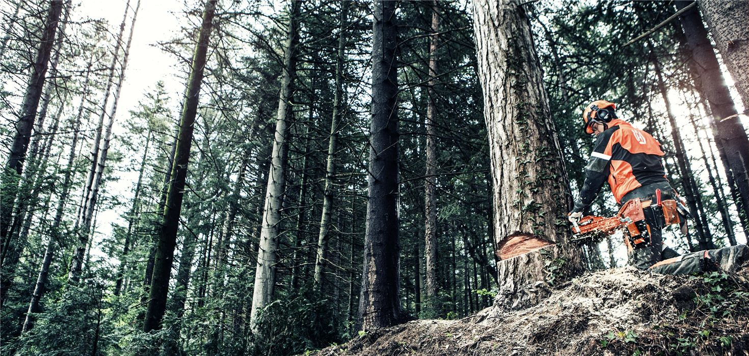 láncfűrészek husqvarna profi fakitermelés
