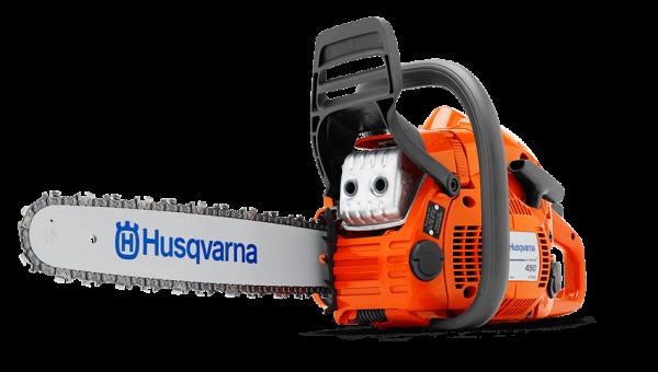 """Láncfűrész Husqvarna 450E II 15"""" fureszbolt.hu Husqvarna webáruház"""